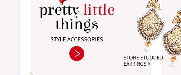 Oxidised Jhumkas, Pachikari, Beaded Earrings & more. Buy Now!Multicolor Pendant Set