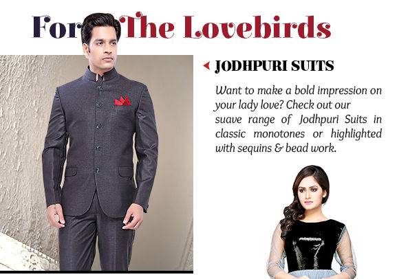 Select from our striking range of Jodhpuri Suits. Buy Now!