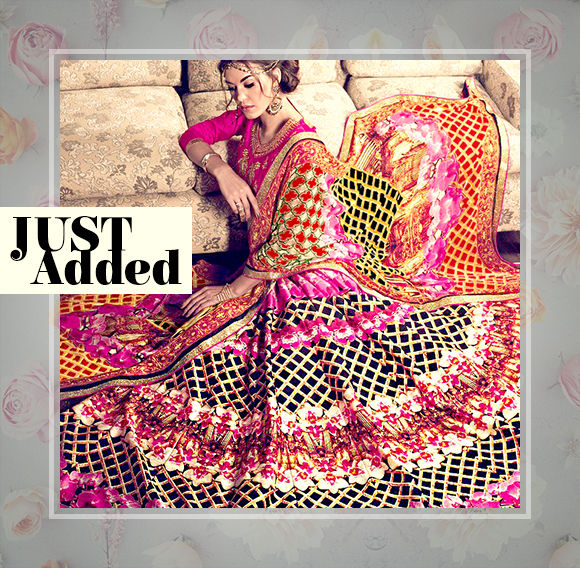 Explore the latest range of Sarees, Lehenga Cholis, Salwar Kameez, Jewelry & more. Buy Now!