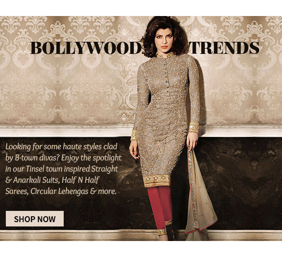 Choose from our Bollywood inspired Ensembles. Buy Now!