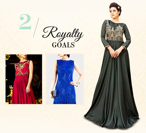 Diwali fashion: Gowns with embroidery. Shop!