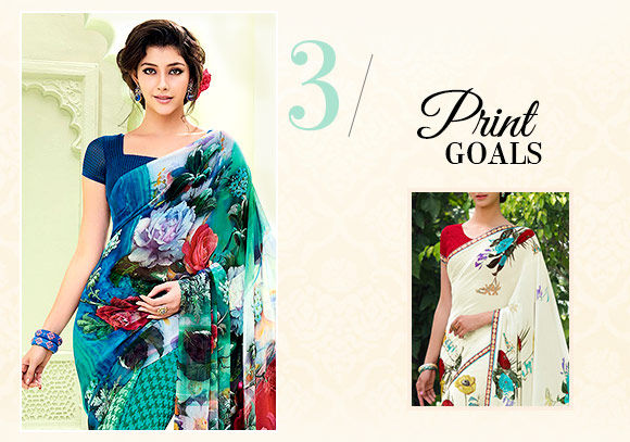 Diwali fashion: Ensembles with Floral Prints. Shop!