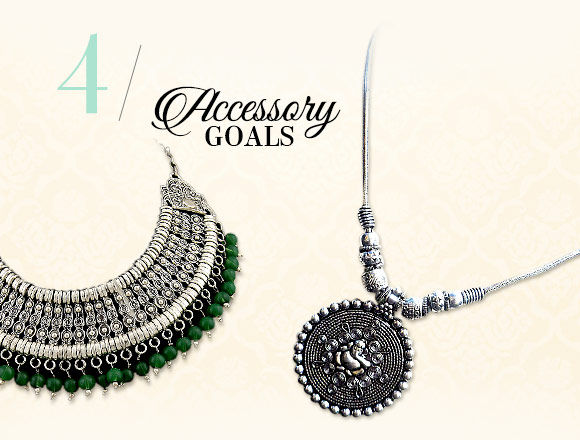 Diwali fashion: Oxidized Jewelry. Shop!