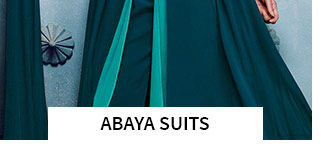 Abaya Suits in pretty shades. Shop!