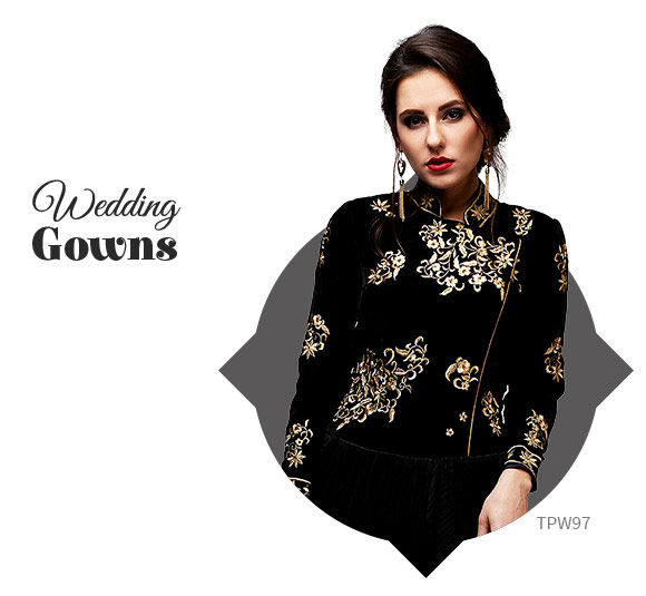 Wedding Special: Fusion Gowns. Shop!