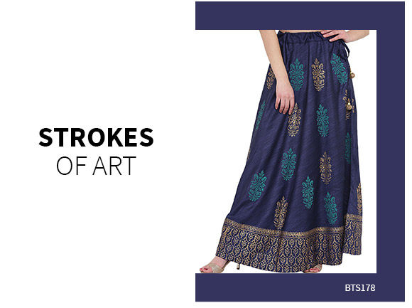 Ethnic Closet: Indo Western Skirts. Shop!