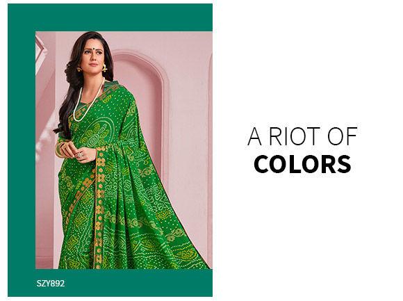 Ethnic Closet: Rajasthani Sarees. Shop!