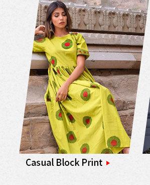 Street style: Block Print. Shop!