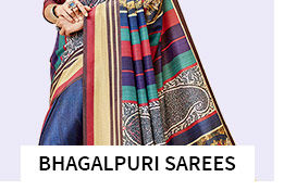 Bhagalpuri Sarees in pretty shades. Shop!