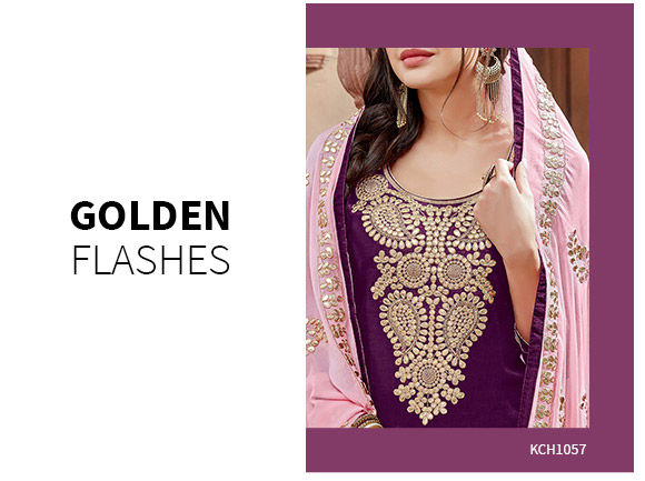 Ethnic Closet: Salwar Kameez with Gota Work. Shop!