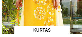 Kurtas in pretty shades. Shop!