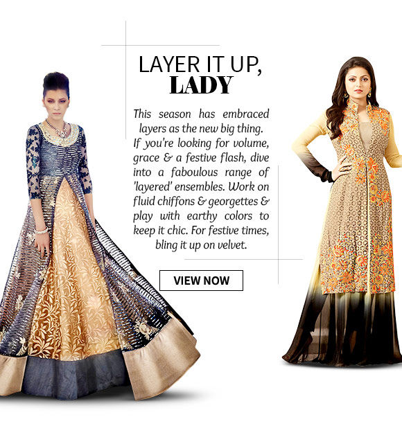 Select from our inspiring range of Layered Ensembles. Shop Now!
