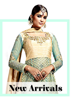 Fresh Styles in Sarees, Salwar Suits, Lehenga Cholis, Menswear, Add-ons & more. Shop!