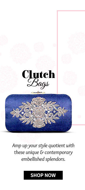 Pick your favorite from our stunning range of Clutch Bags. Shop Now!