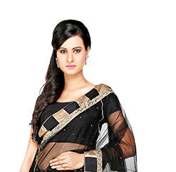 Must-have Sarees: Net, Banarasi, Half n Half & Digital Print for various events. Shop!