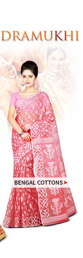 Bengal Handloom Sarees. Shop!