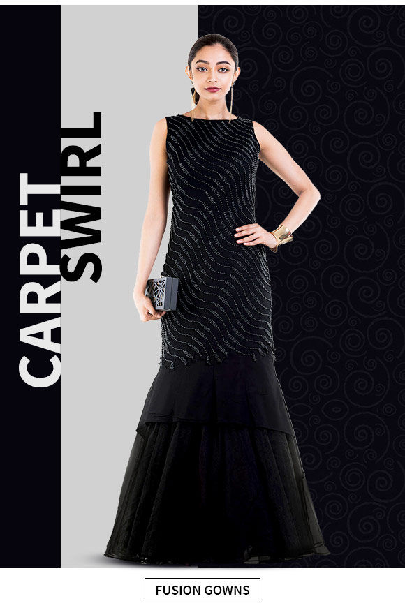 Array of Indo Western Gowns. Shop!