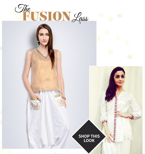 Pick your favorite from our Alia Bhatt-inspired ensembles. Buy Now!