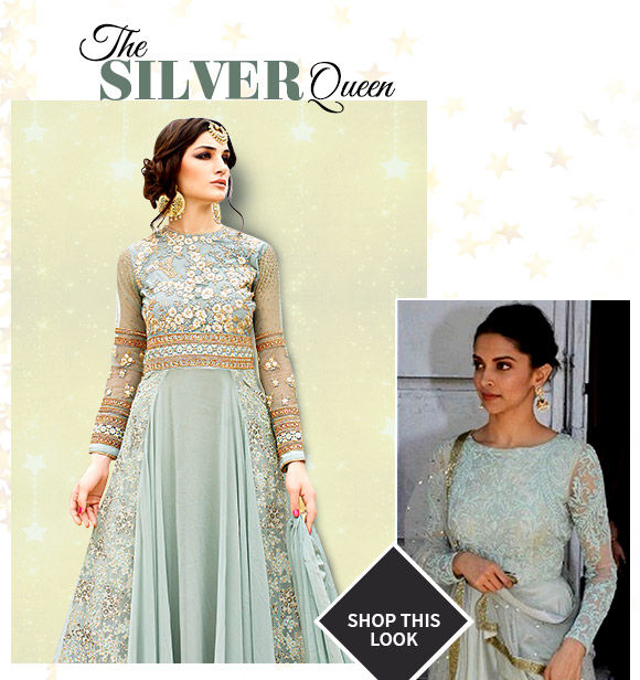 Pick your favorite from our Deepika Padukone-inspired ensembles. Buy Now!