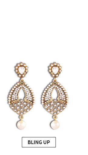 Choose from our wide range of earrings. Buy Now!