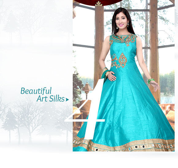Dive into opulence with our elegant collection of Outfits in Silk. Buy Now!