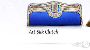 Art Silk Clutch. Shop Now!