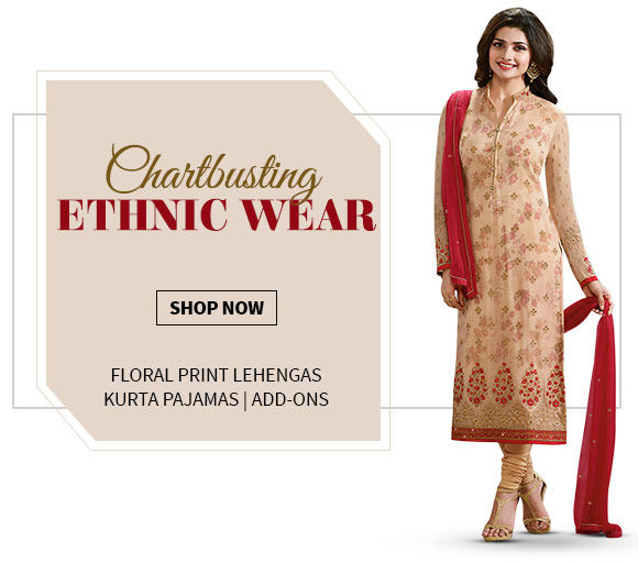 Hot trends: Half-n-Half Sarees, Straight Suits, Floral Lehengas, Add-ons & more. Shop Now!
