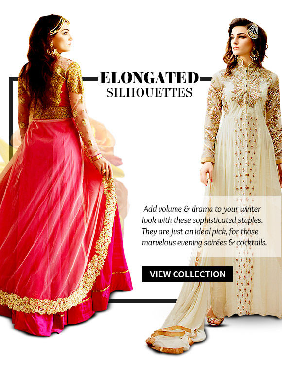Choose from our wide range of Elongated Silhouettes. Buy Now!