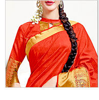Pick your favorite from our gorgeous range of Tussar Silk Sarees. Buy Now!