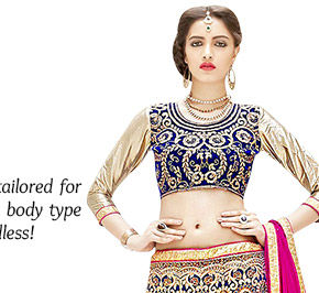 Circular Lehenga with delicate embroidery, flowy fabrics, lots of flare & large embellished borders. Order now!