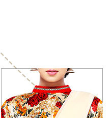 High Neck Blouse to pair with Dhoti Sarees. Shop Now!