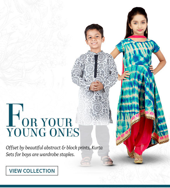 Beautiful Attires for your young ones. Buy Now!