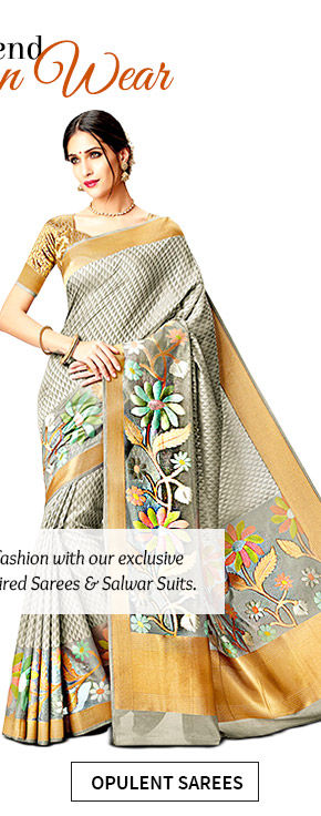 Select from our stunning range of Designer-inspired Sarees & Salwar Suits. Buy Now!