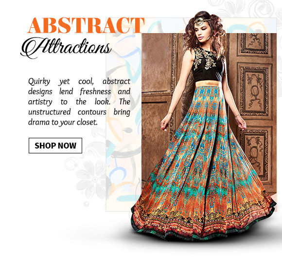 Ensembles with Abstract Prints. Shop Now!