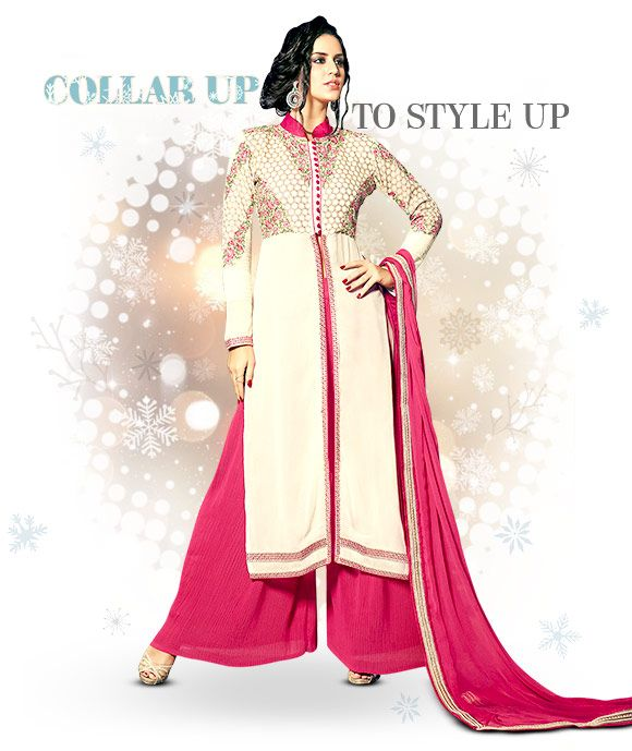 Collared Blouses, Kurtas, Tunics and Gowns. Shop!