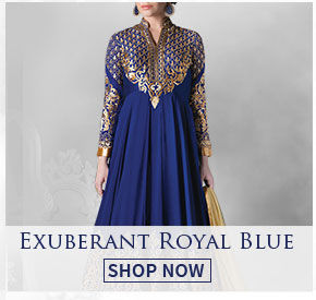 Get regal with styles in Royal Blue. Shop!