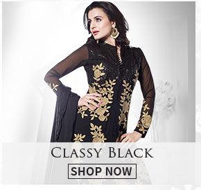 Array of black attires for winters. Shop!