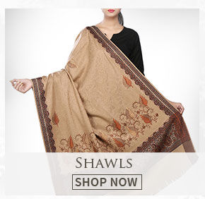 Keep yourself warm with elegant Shawls. Buy!