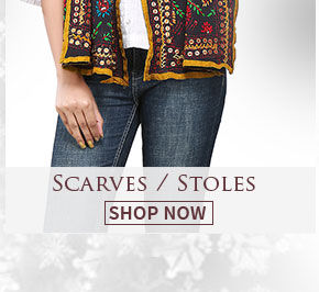 Accessories with stylish Scarves. Shop now!