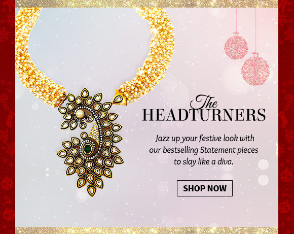 Pick your favorite from our vast array of Statement Necklaces. Buy Now!
