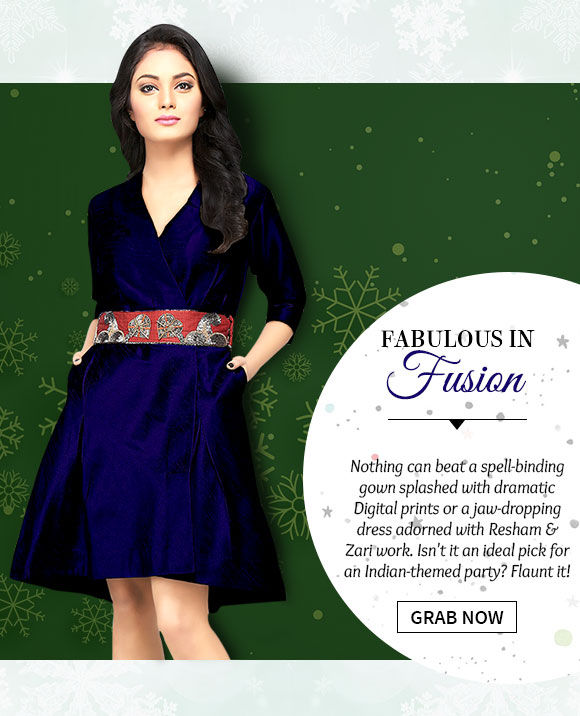 Gorgeous Gowns & Dresses in striking designs & hues. Buy Now!