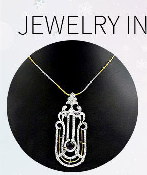 Select from our gorgeous range of Stone Studded Pendants. Buy Now!