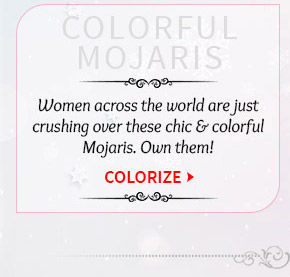 Choose from our beautiful range of Mojaris. Buy Now!