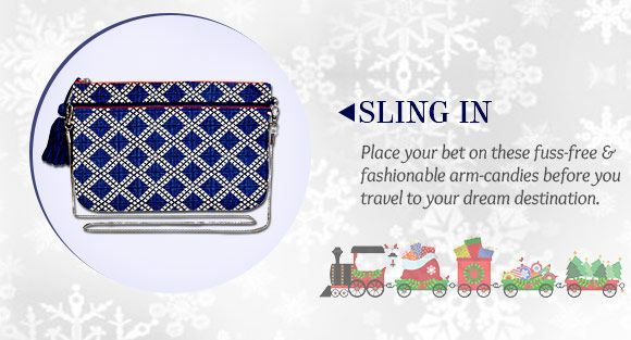 Lovely array of Sling Bags. Buy Now!