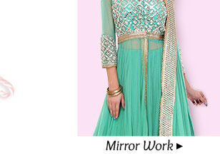 Gorgeous Lehenga Cholis with Mirror work. Buy Now!