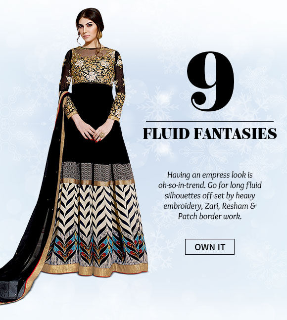 Pick your favorite from our scintillating range of fluid structured silhouettes. Buy Now!