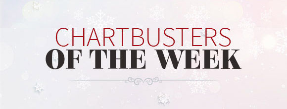Chartbusters of the week. Shop Now!
