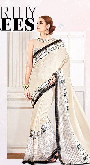 A myriad of gorgeous Georgette Sarees. Buy Now!