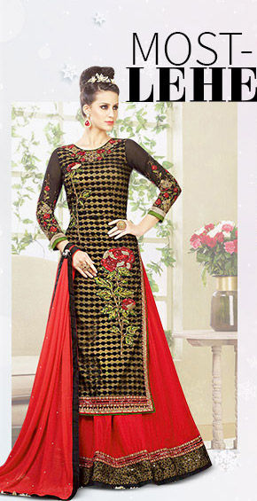 Beautiful collection of Lehenga Cholis. Buy Now!