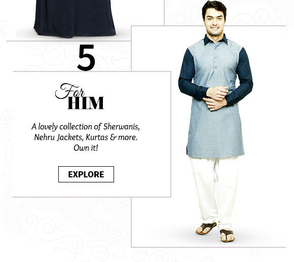 Take a pick from our wide range of Menswear. Buy Now!